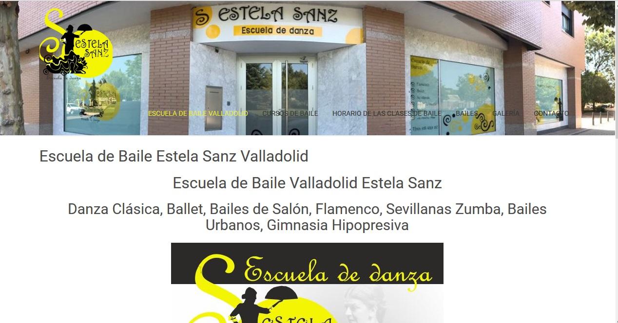 Web de la escuela de danza Valladolid